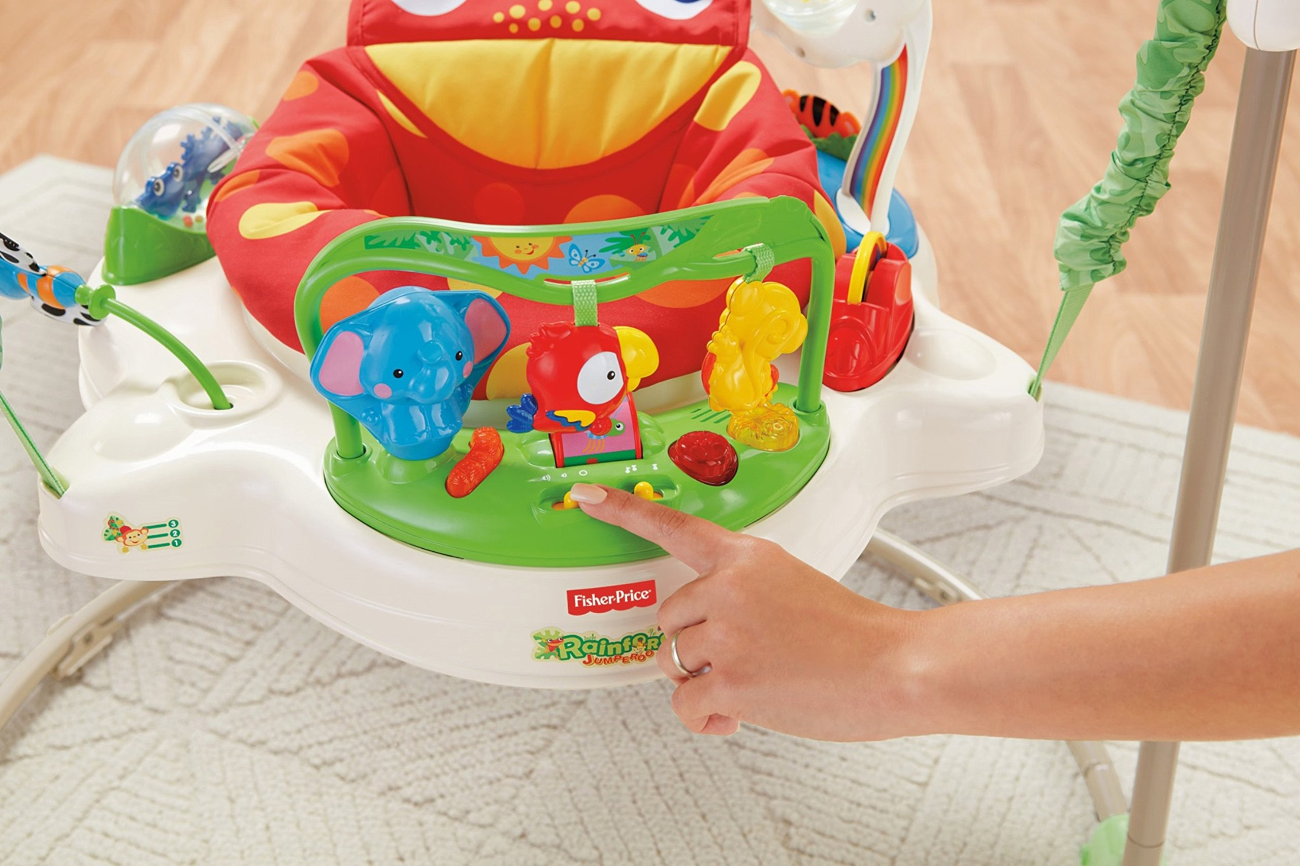 Fisher-Price Rainforest Jumperoo by Fisher-Price (Image #9)
