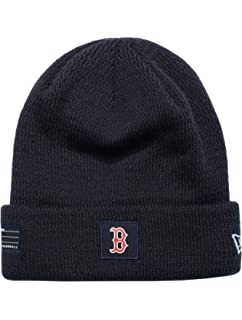 93cc333a8c567b New Era Boston Red Sox Beanie MLB On Field Sport Knit Cap Navy Adult One  Size