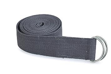 Estudio de Yoga Correa de cinturón Hebilla Hebilla 2,5 m ...