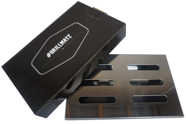# Barbacoa Matz Ahumador Box - Incienso para gas y carbón vegetal barbacoas - Acero inoxidable de alta calidad - para smoken/ahumar: Amazon.es: Jardín