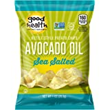 Good Health Kettle Style Potato Chips, Avocado Oil, Sea Salt, 1 oz. Bag, 30 Pack – Gluten Free, Crunchy Chips Cooked in 100%