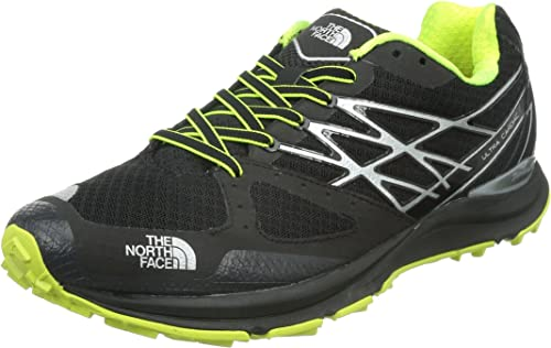 The North Face Ultra Cardiac Trail Running Shoe Men's TNF BlackDayglo Yellow