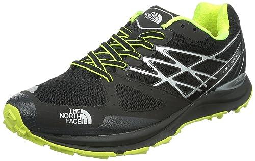The North Face The North Face - Zapatillas para Correr en montaña para Hombre Negro TNF Black/Dayglo Yellow: Amazon.es: Zapatos y complementos
