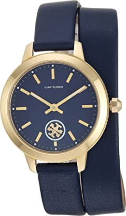8620d5ddf Amazon.com: Tory Burch Women's Collins - TBW1303 Blue One Size: Watches