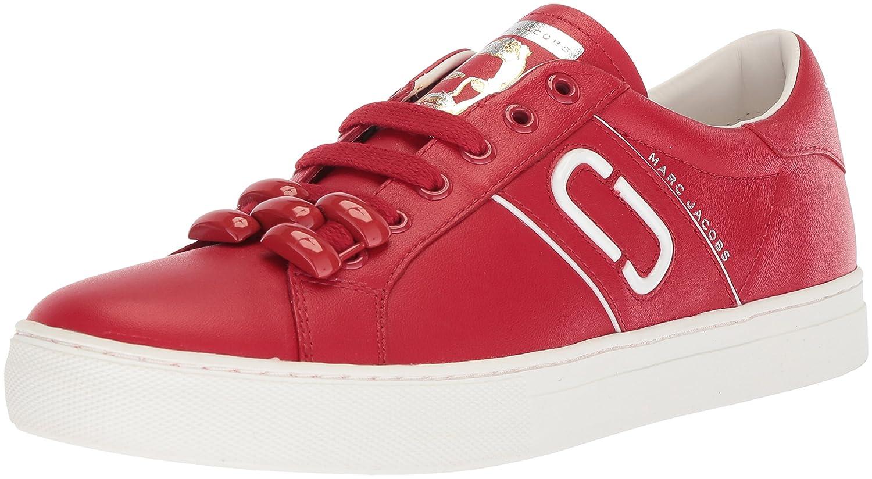 Marc Jacobs Women's Empire Chain Link Sneaker B072N6KPJ5 38 M EU (8 US)|Red