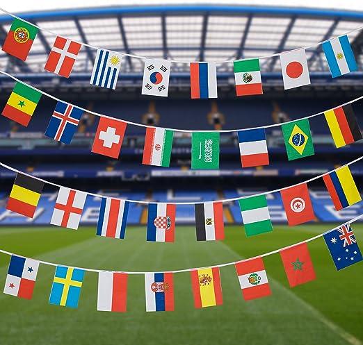 14 x 21cm) - 2018 FIFA World Cup Banners: Amazon.es: Juguetes y juegos
