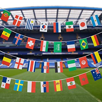 ea38d288ded0 Football World Cup 2018 Bunting