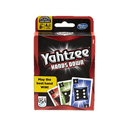 Toys & Hobbies Yahtzee Hands Down Card Game Ages 8+