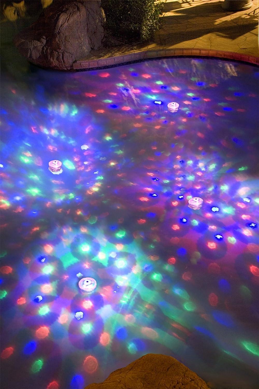 Interline 38603555 Underwater Light Show, Multi-Colour, 30 x 30 x 30 cm Interline_38603555