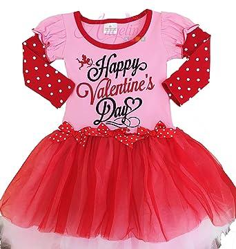 boutique clothing girls happy valentines day tutu dress 2txs
