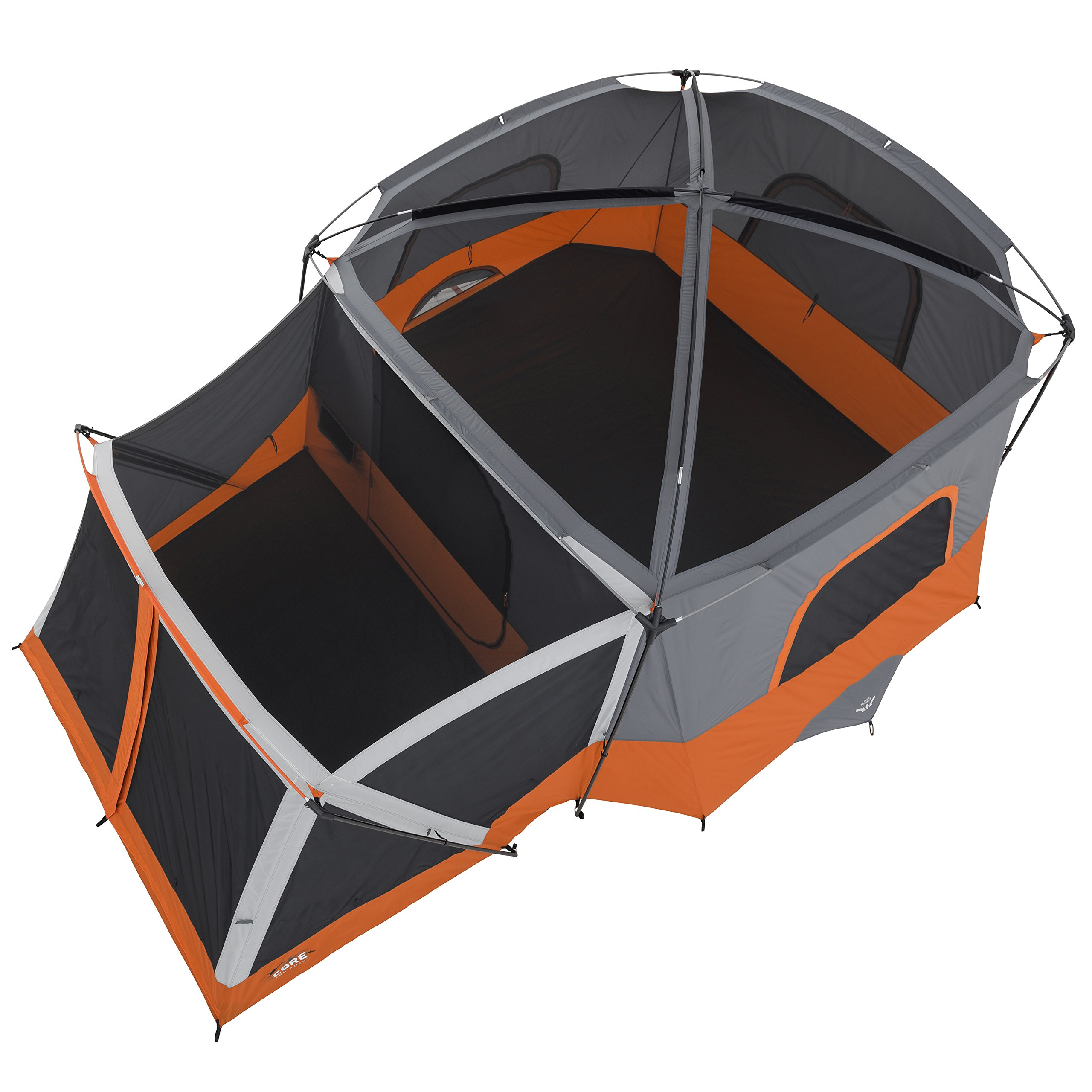 CORE 11 Person Cabin Tent with Screen Room - 17' x 12' by CORE Equipment (Image #4)