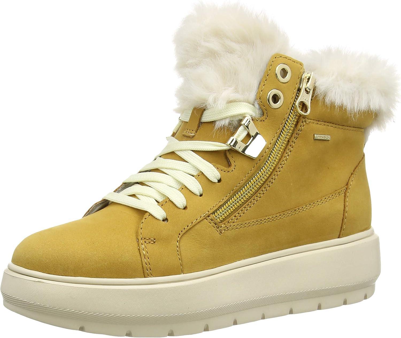 Parecer Rápido Asociación  Geox Women's D Kaula B ABX D Hi-Top Trainers: Amazon.co.uk: Shoes & Bags
