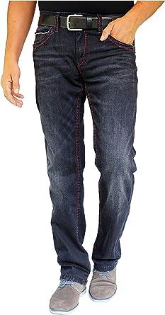 Camp David Jeans Black Used Comfort FIT Straight Leg NORMAL Waist C622 CDU 9999 1975 W31L32