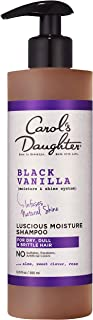 product image for Carol's Daughter Black Vanilla Moisture & Shine Shampoo for Dry Hair, with Aloe and Rose, Sulfate Free Shampoo, 12 fl oz