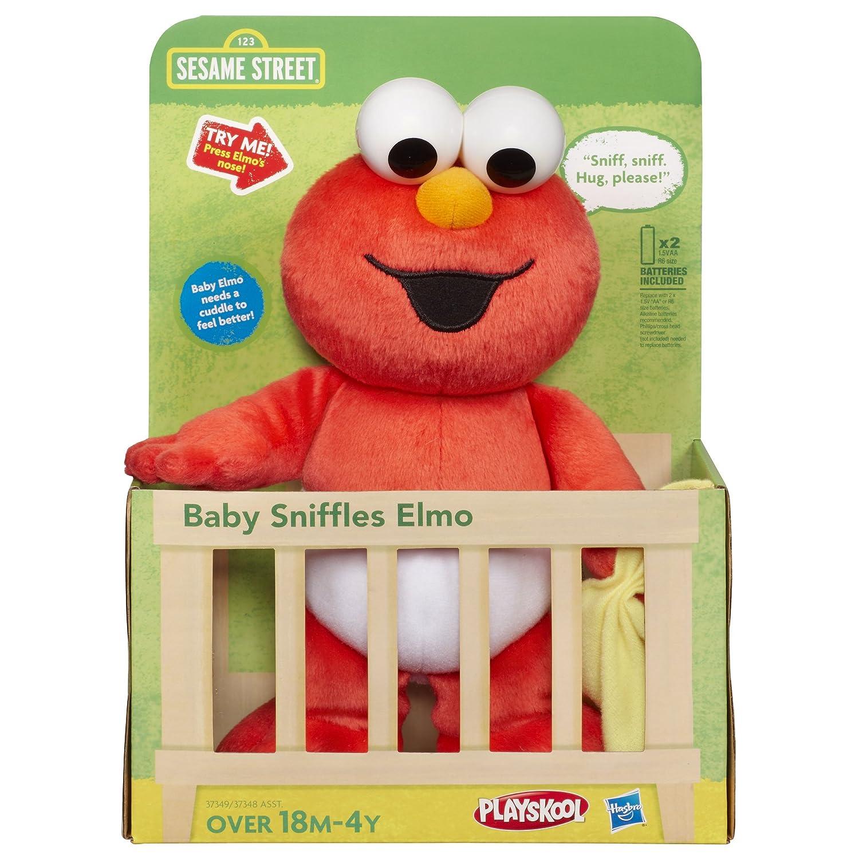 Amazon Playskool Sesame Street Baby Sniffles Elmo Toys & Games