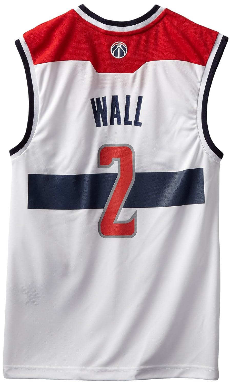 online retailer fe839 80bf5 NBA Washington Wizards John Wall Home Replica Jersey White ...