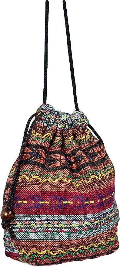 Hobo Bag Bohemian Bag Hippie Bag Shoulder Bag Crossbody Bag Purse Handbag Boho Gift Thai Woven Bag Multicolor Bag Ethnic Bag Elephant Bag