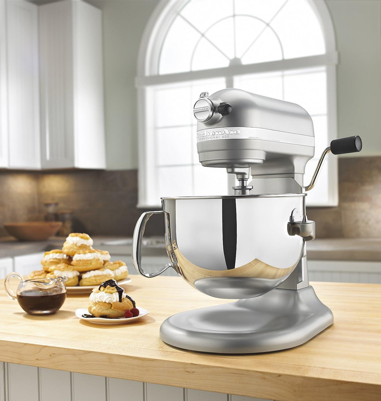 Amazon.com: Kitchenaid Stand Mixer   6 Qt   Pro 600   Nickel Pearl:  Kitchen: Kitchen U0026 Dining