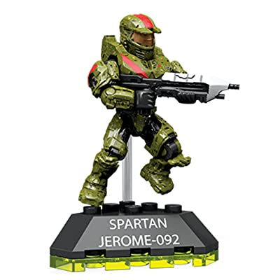 Mega Construx Halo Spartan Jerome Building Set: Toys & Games