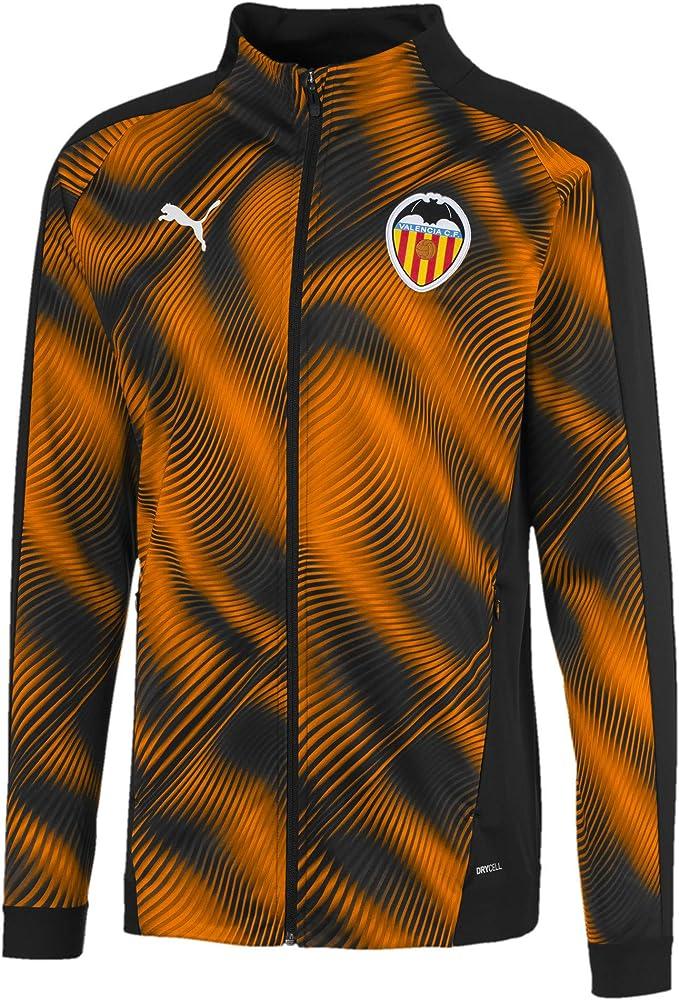 Puma Vcf Stadium - Chaqueta para hombre, color Puma Black-vibrante Naranja, tamaño X-Small: Amazon.es: Deportes y aire libre