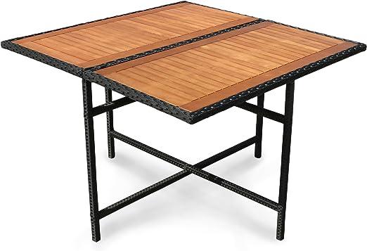 Indoba iND-® 70076-tI-serie-faro table de jardin en bois d ...