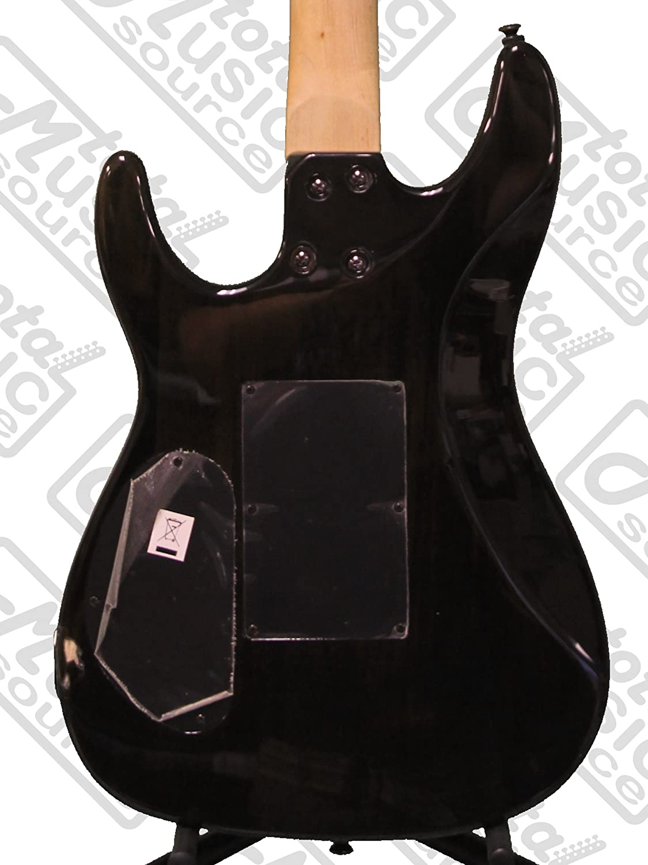Dean Guitars C350 F TBK Pack, Floyd Rose Guitarra eléctrica Negro, Bundle: Amazon.es: Instrumentos musicales