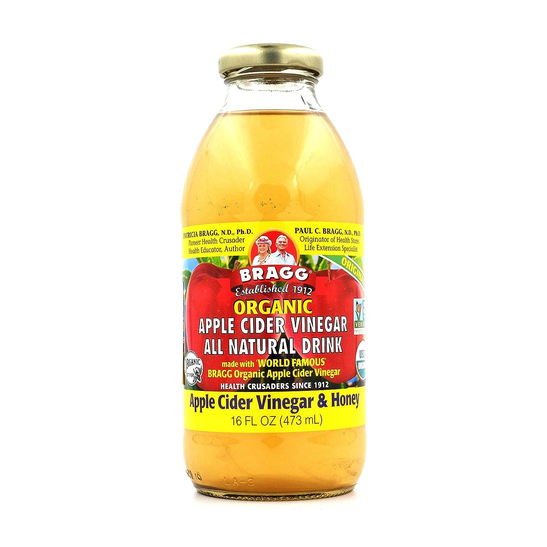 Amazon.com   Bragg Organic Apple Cider Vinegar - Honey - 16 Fl Oz   Grocery    Gourmet Food 4fb1c81ac