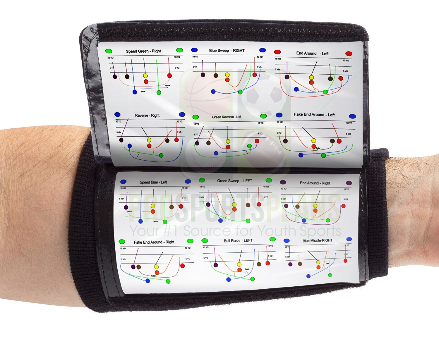 pretty qb wristband template images  play call armbands