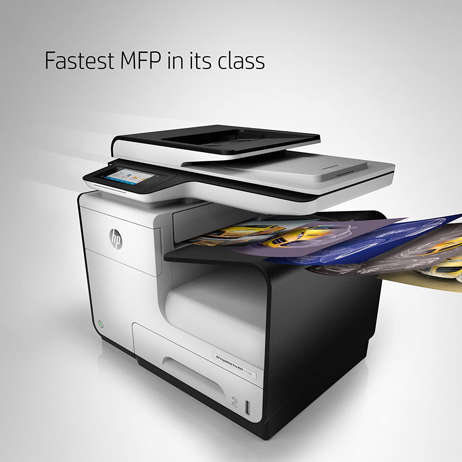 amazon com hp pagewide pro 477dw color multifunction business
