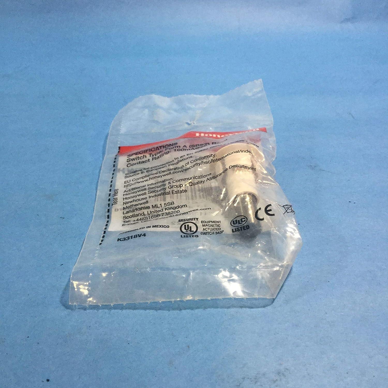 Honeywell Ademco 947-75TWH Steel Door Contact with Terminals (White)