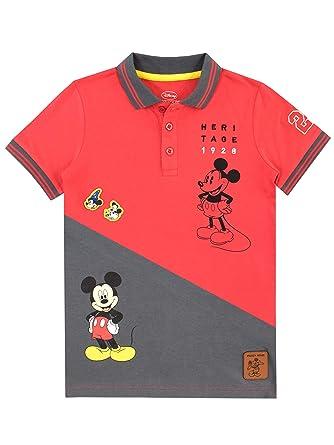 Amazon.com  Disney Boys' Mickey Mouse Polo Shirt  Clothing 4791a29c9039