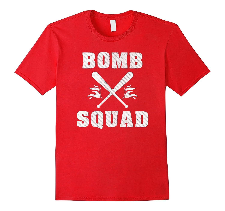 Bomb Squad Baseball Softball T Shirt-TH