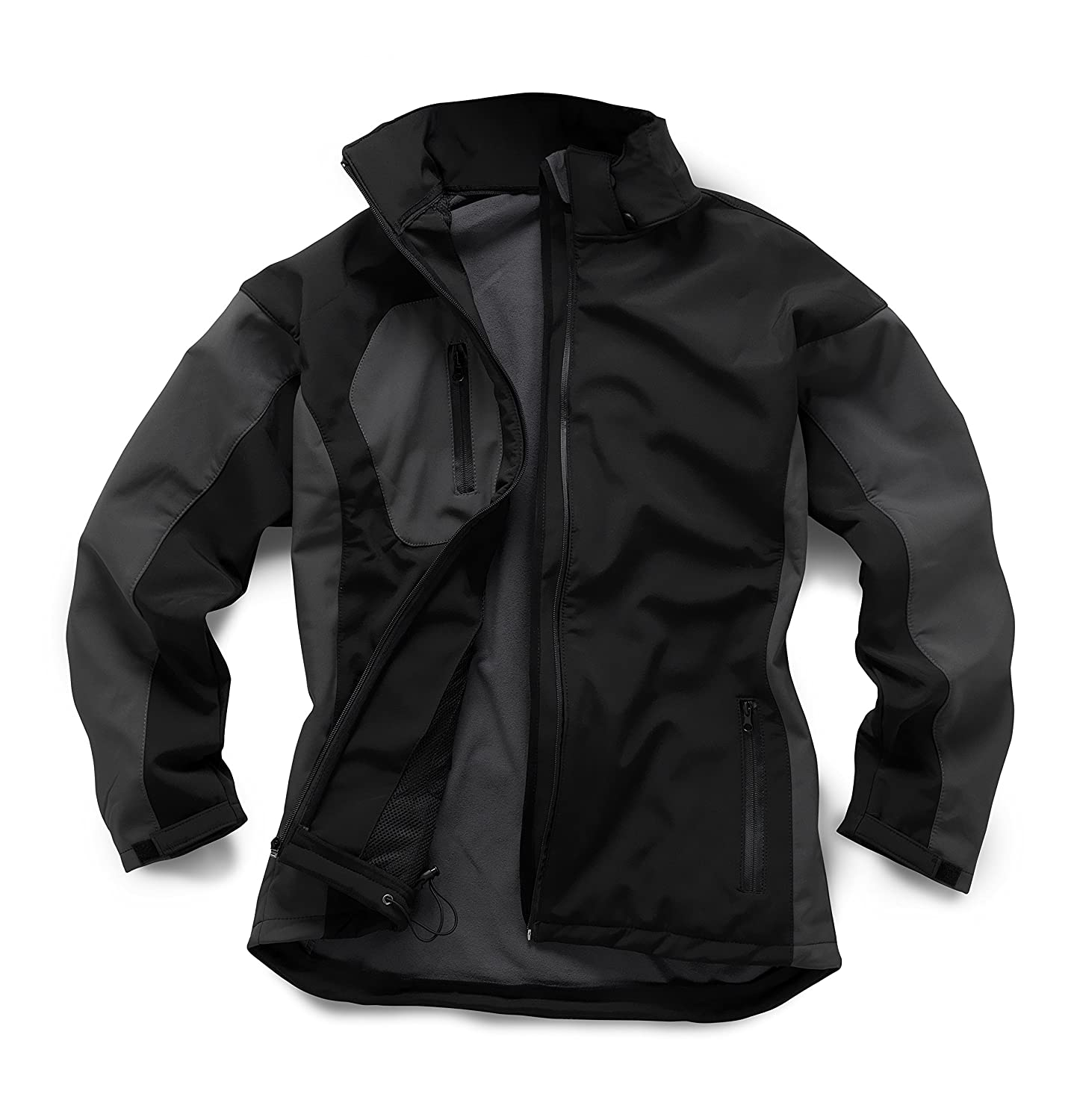 StandSafe Mens WK009 Two Tone Softshell Jacket