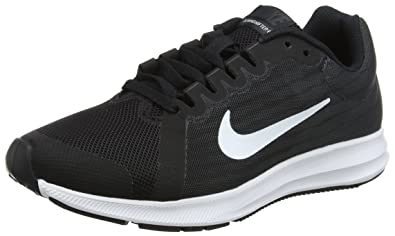 low priced 5e1d5 a3dda NIKE Herren Downshifter 8 (GS) Laufschuhe, Schwarz (BlackWhiteAnthracite