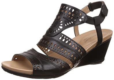 Naturalizer Women's Shaw Leather Fashion Sandals at amazon