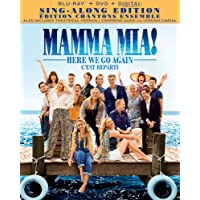 Mamma Mia! Here We Go Again [Blu-ray + DVD + Digital] (Bilingual)