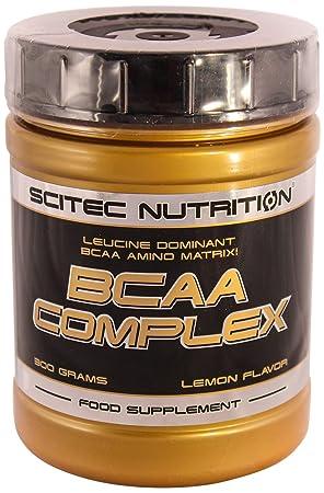 Scitec Nutrition BCAA Complex Lemon, De 1 Pack (1 x 300 g): Amazon.es: Salud y cuidado personal
