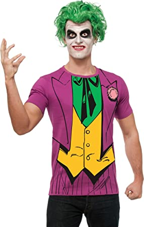 Rubies Kit Disfraz del Joker DC Comics para Hombre: Amazon.es ...