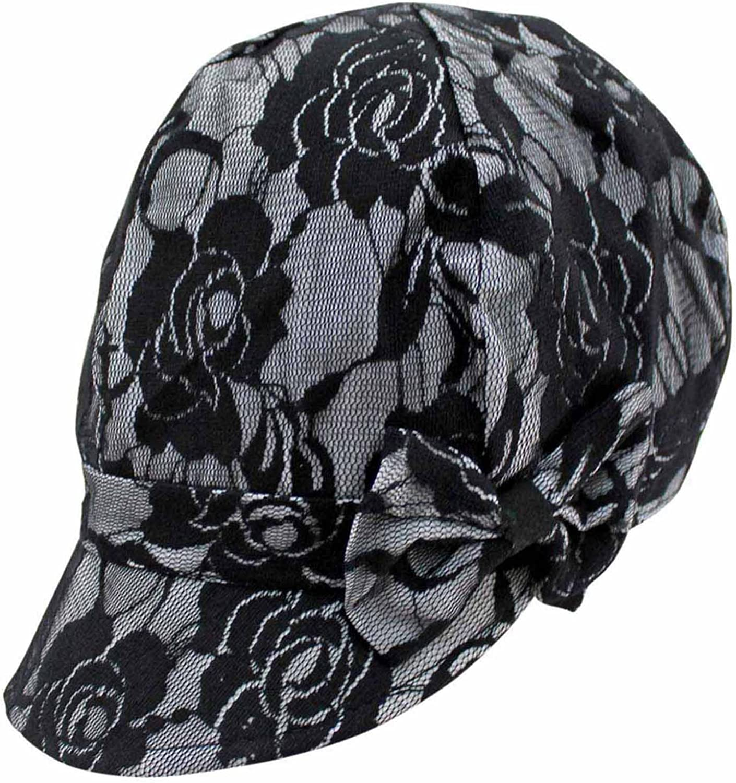 Lace Cabbie Newsboy Hat...