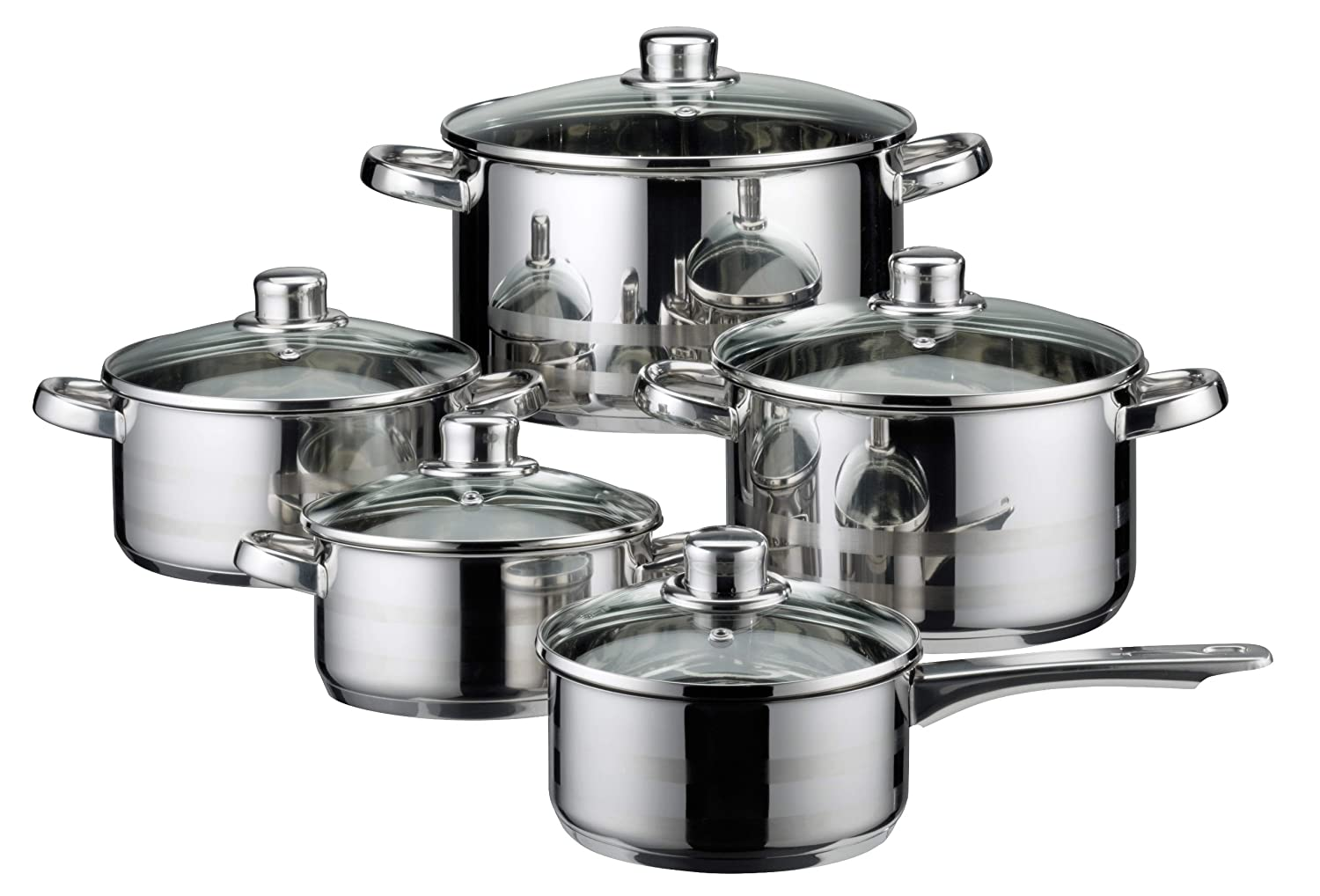 Elo Skyline 99815 5-Piece Pot Set