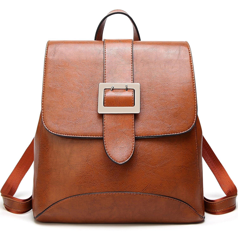 Womens Fashion Backpacks Purse PU Leather Shoulder Bags Ladies Casual  Rucksack School Bags  Handbags  Amazon.com 39c5dc9a0754f