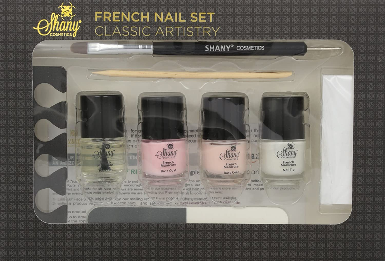 Amazon.com : SHANY Cosmetics French Nail Set, 7 Ounce : Manicure ...