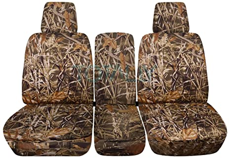 Miraculous Totally Covers Fits 2004 2008 Ford F 150 Camo Truck Seat Covers Front 40 20 40 Split Bench W Center Console Armrest W Wo Integrated Seat Belts Squirreltailoven Fun Painted Chair Ideas Images Squirreltailovenorg