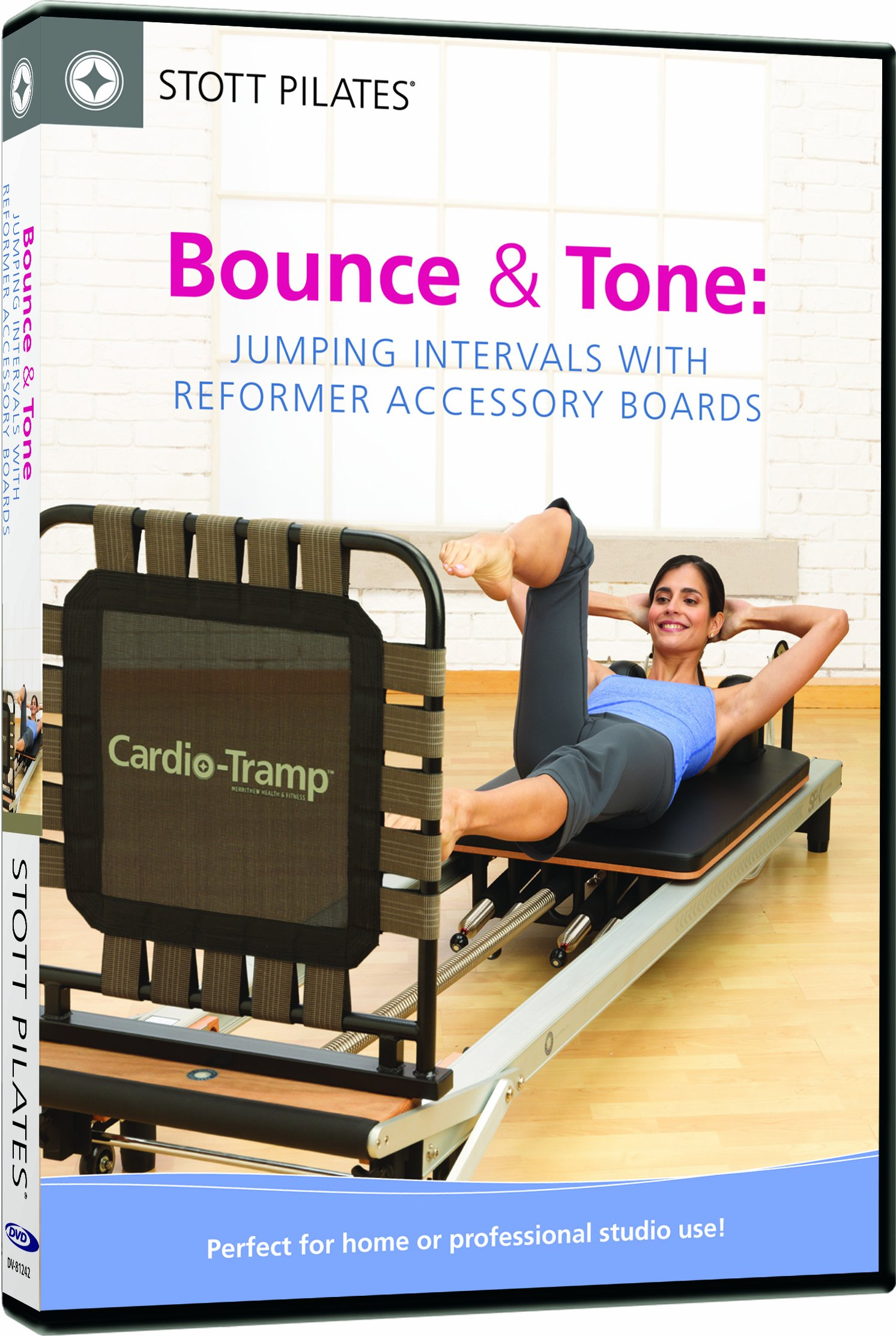 Bounce and Tone: Jumping Intervals With Reformer Accessory Boards (DVD)
