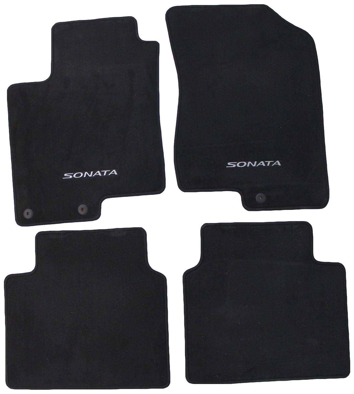 hyundai sonata weather weathertech all hyun floor row black mats mpn