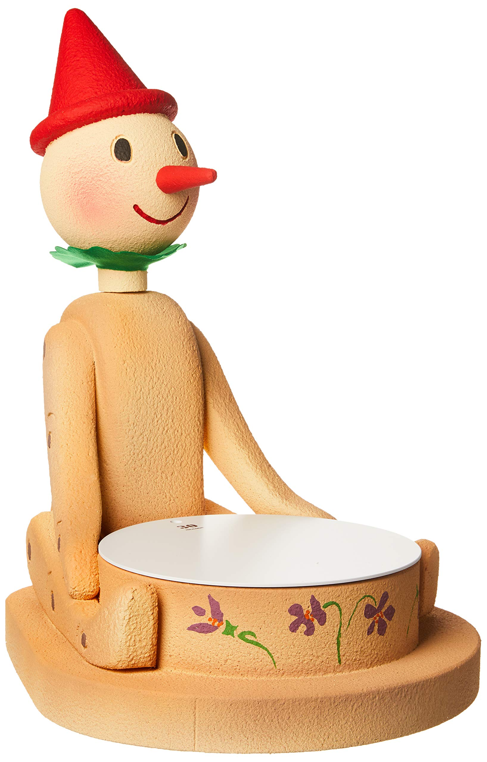 Martellato POLY17 Polystyrene Pinocchio Model Cake Stand, 45 x 51 x 65 cm, Multicoloured