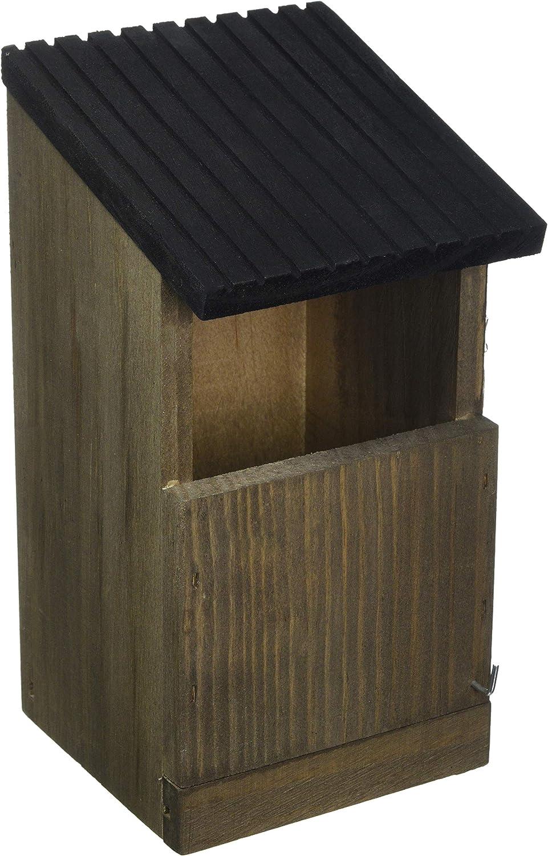 Gardman A04380 - Caja Nido para petirrojos de Madera Natural 13,5 x 12 x 24 cm: Amazon.es: Jardín