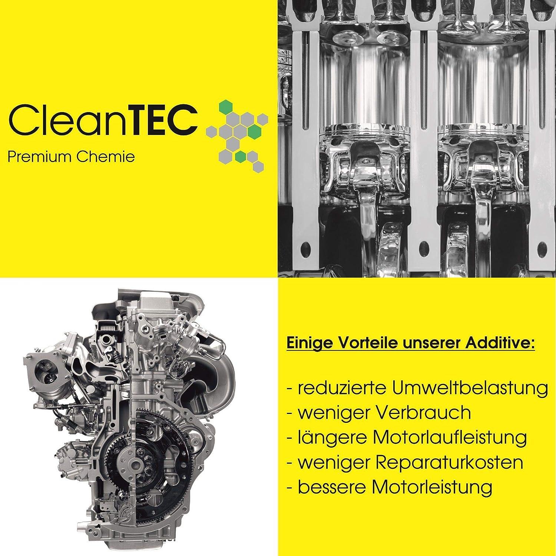 Cleantec Benzin System Pflege Einspritz System Reiniger Additiv 300ml 101 Auto