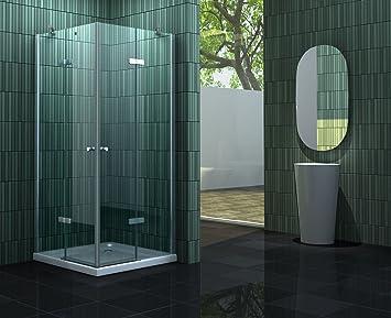 Mampara de ducha sin 90 x 75 x 180 cm NEOTEC: Amazon.es: Bricolaje y herramientas