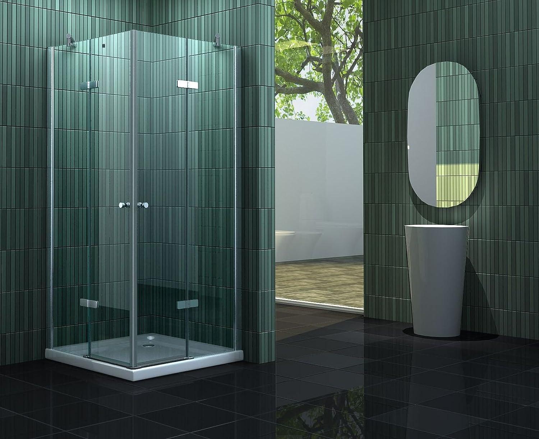 duschkabine 90 x 75 eckeinstieg amilton. Black Bedroom Furniture Sets. Home Design Ideas